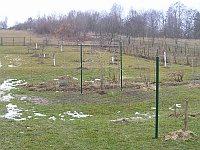 Opory pro keře do zahrady jednoduše
