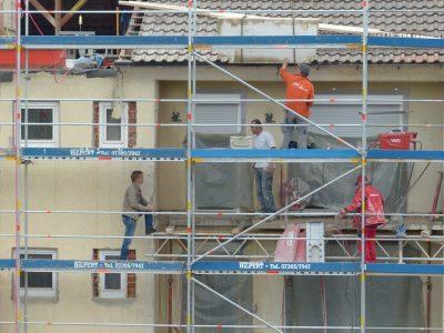 rekonstrukce domu znamená vždy velký nepořádek